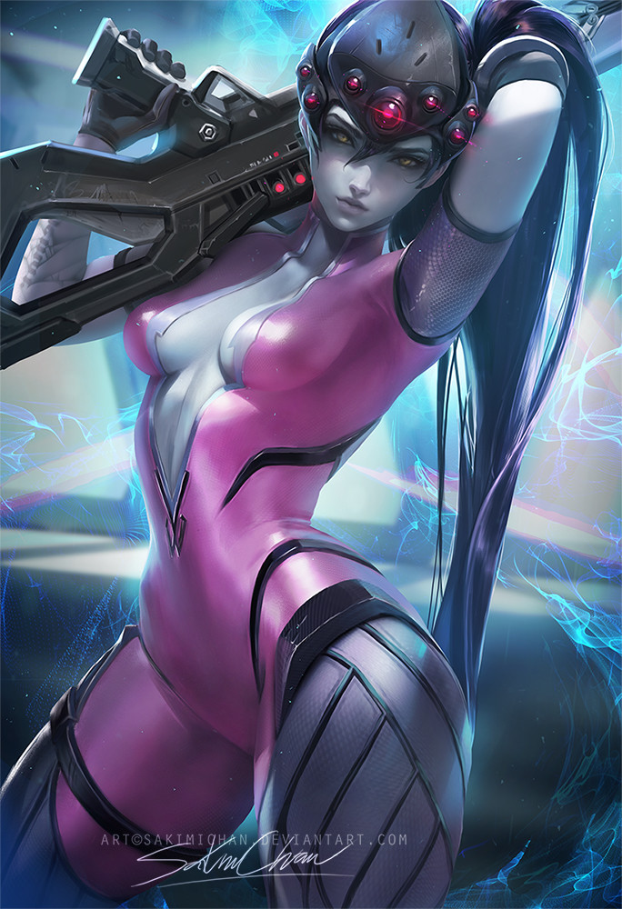 Sakimi chan widowmaker
