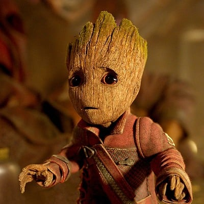 Leon enriquez baby groot 2560x1440 guardians of the galaxy vol 2 7144 01