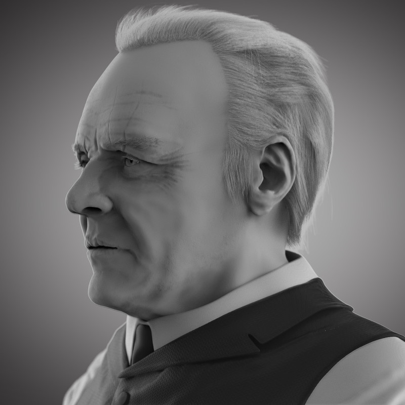 Anthony Hopkins Sculpt