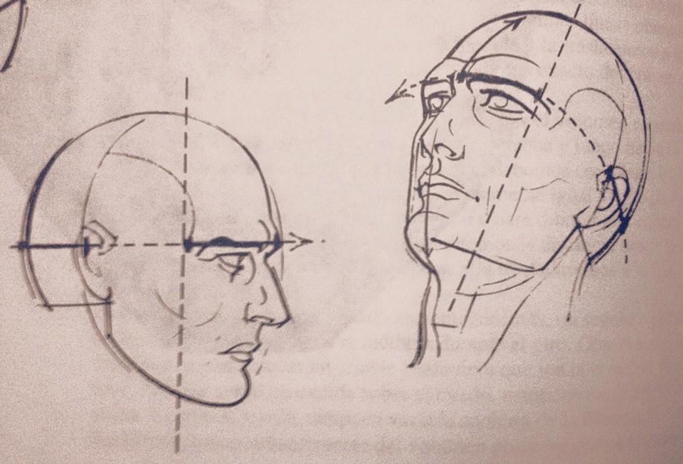 artstation human face sketch ignacio zurita