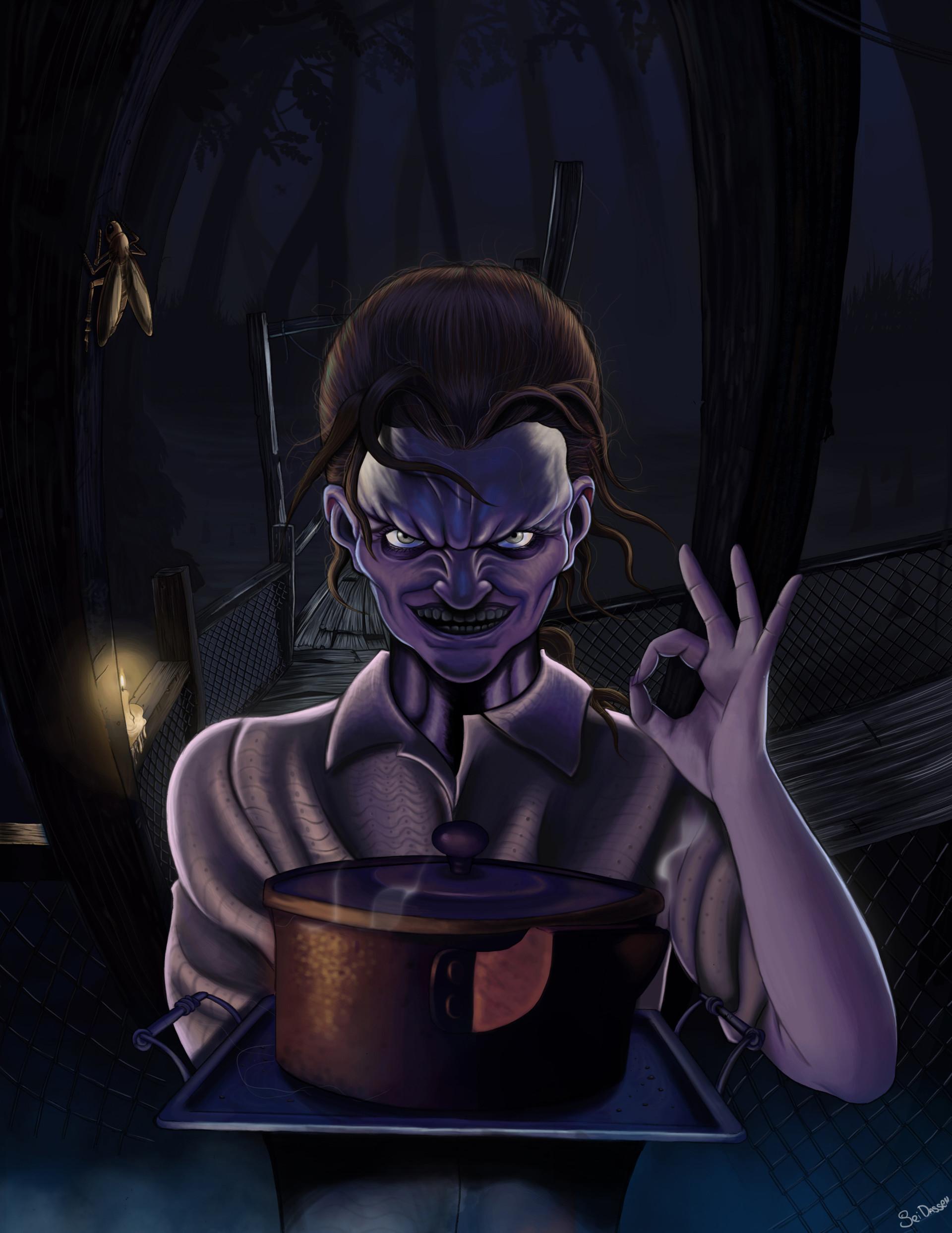 Artstation Marguerite Baker Resident Evil 7 Fanart Ignacio Zurita