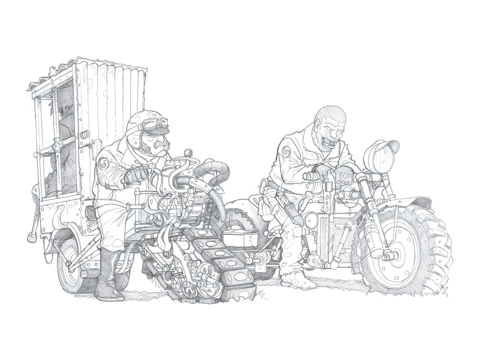 Signarbieux nicolas stan flics motos