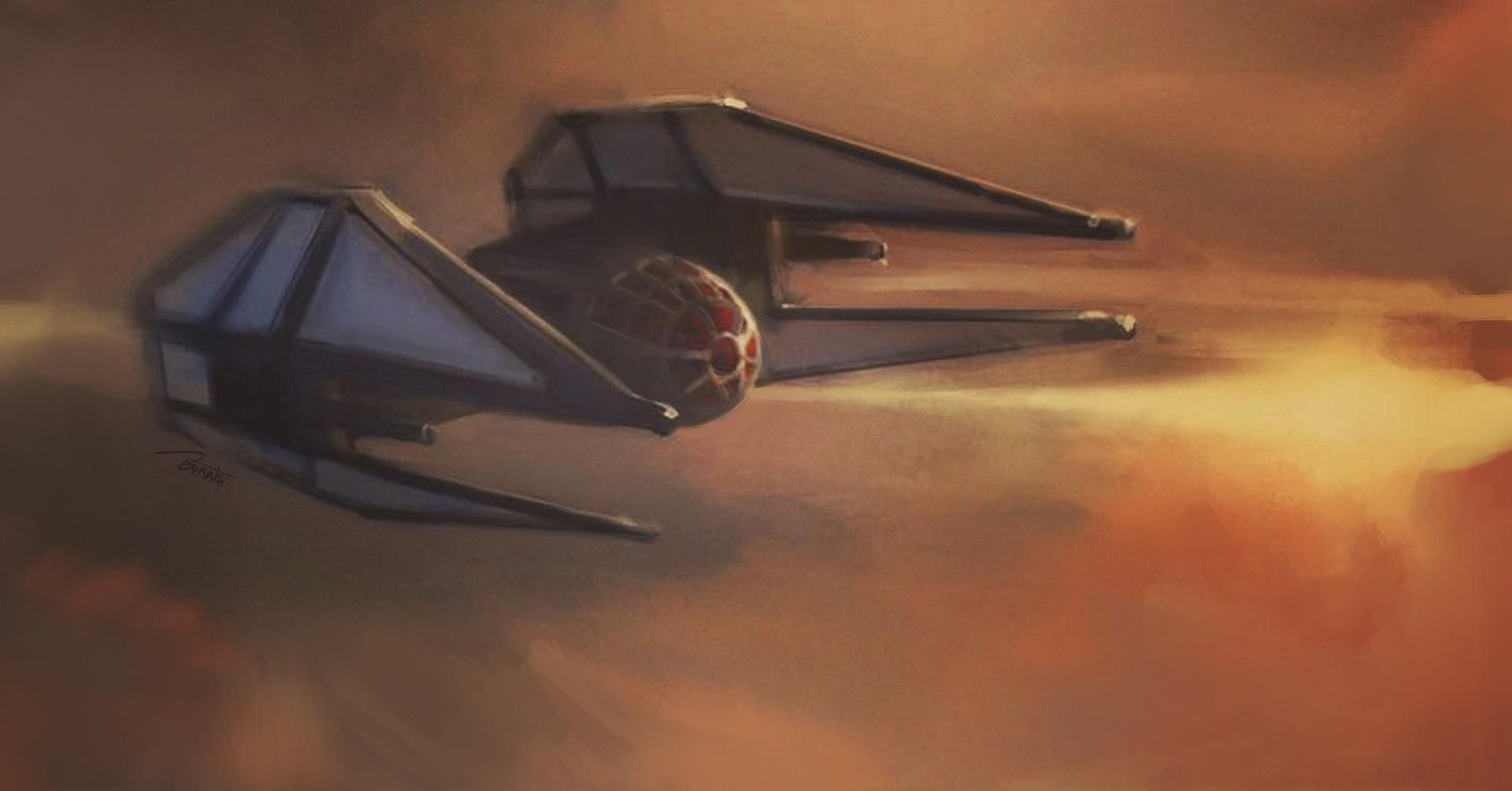 Kylo Ren's Starfighter