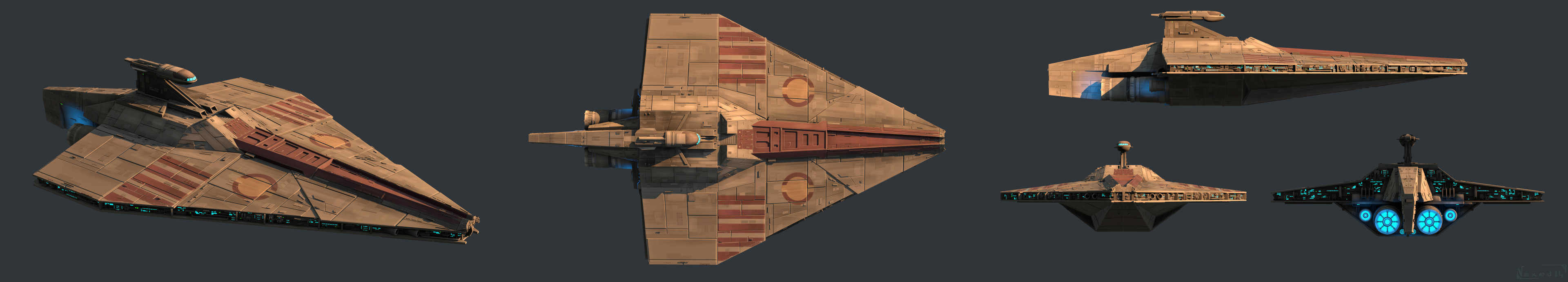 Acclamator Class Star Destroyer