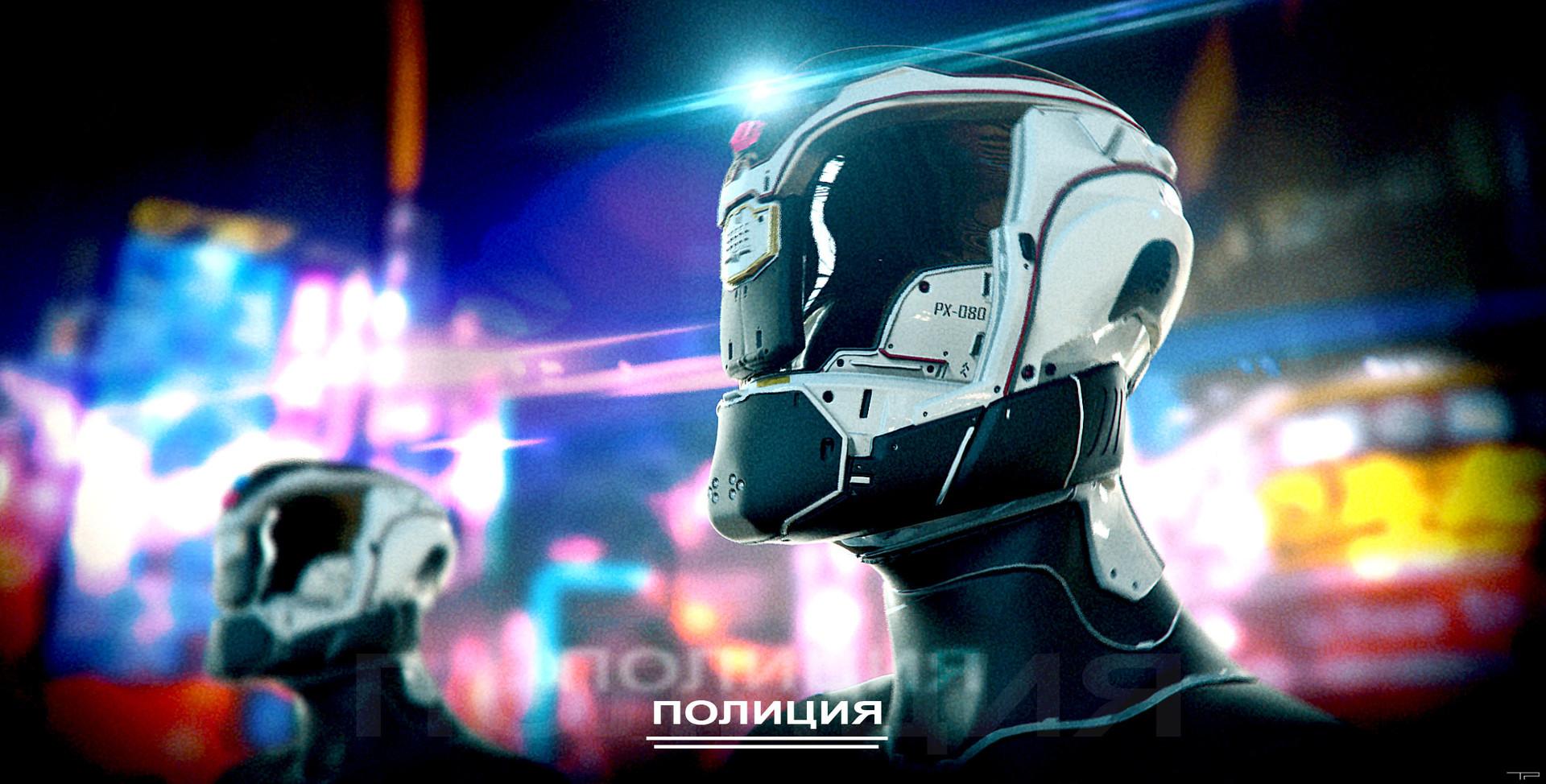 Cyberpunk Cops