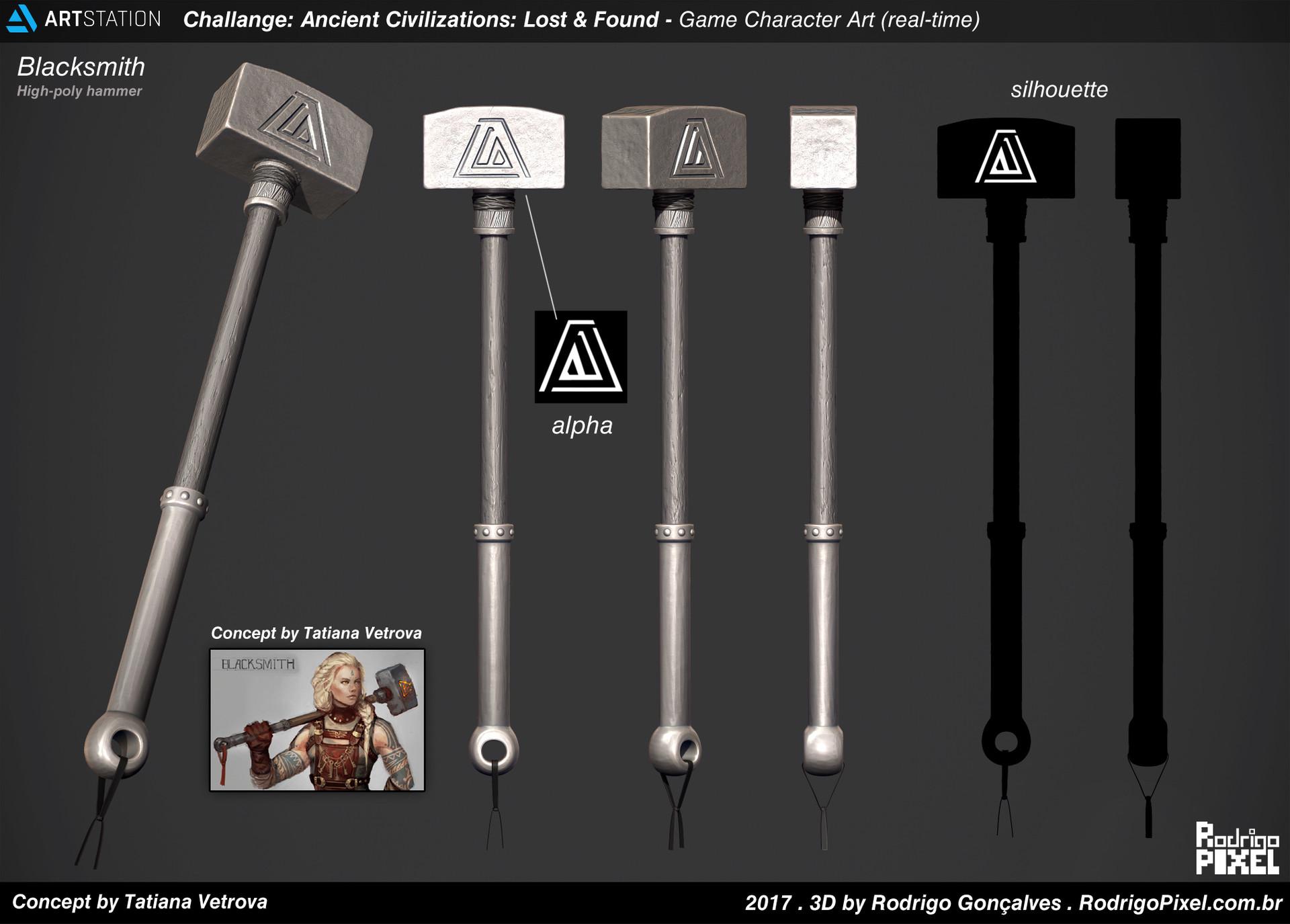 Blacksmith - Real-time_by Rodrigo Gonçalves Blacksmith Blacksmith