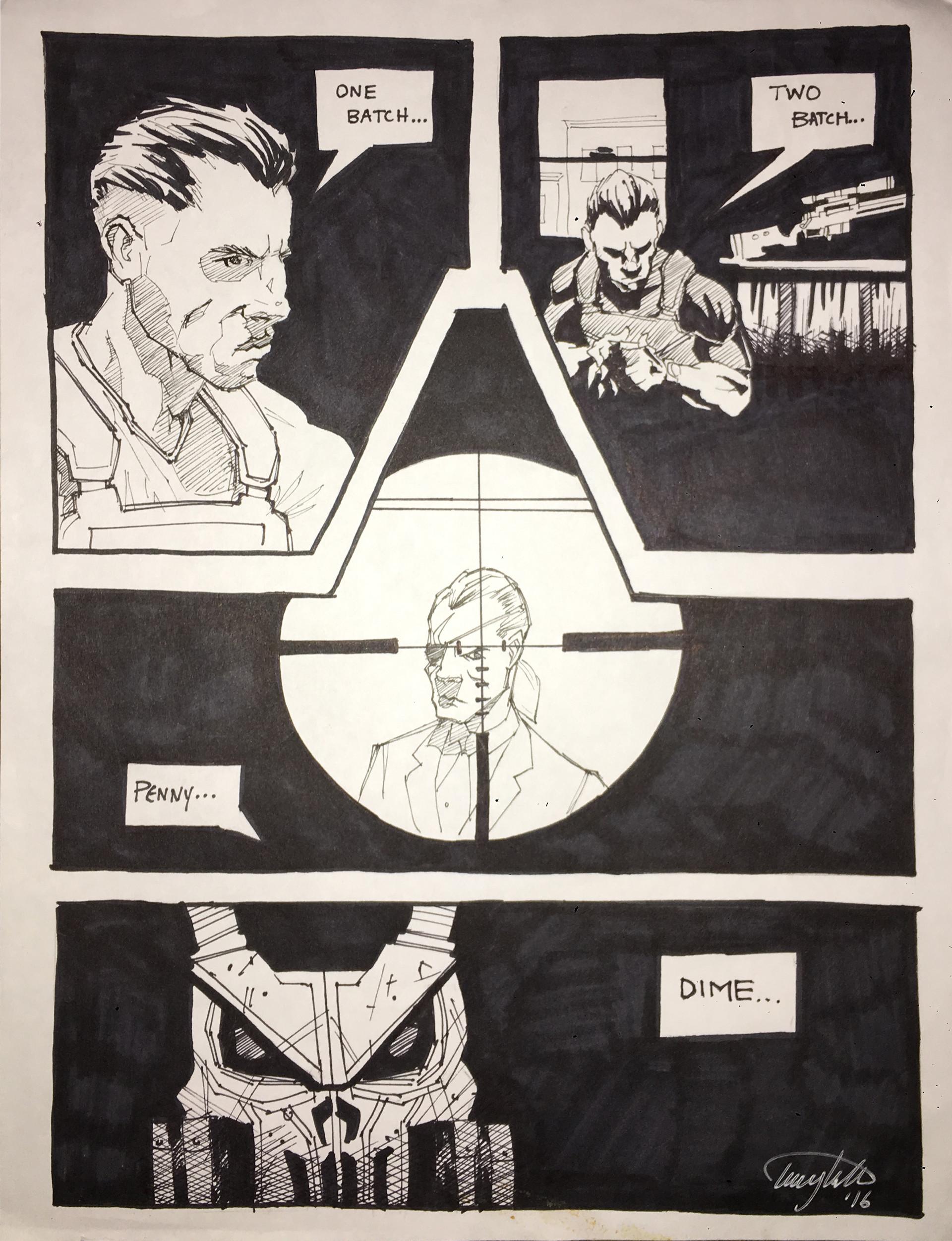 The Punisher - Enizine CSUN - Issue 8, 2017