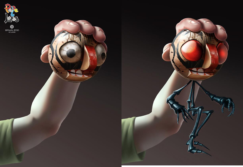 ArtStation - Ventriloquist Dummy character development for
