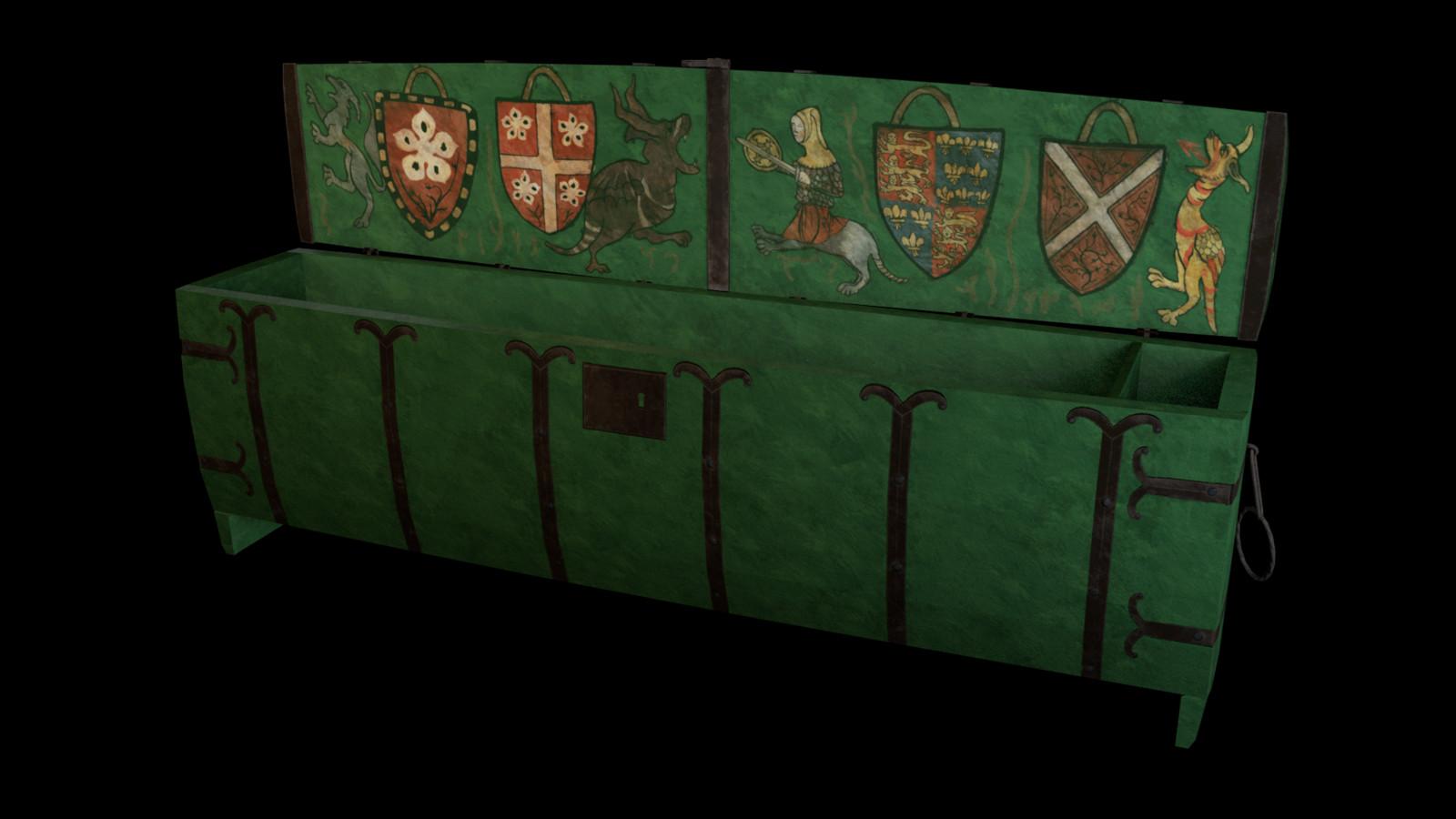 Medieval Chest, Richard De Bury