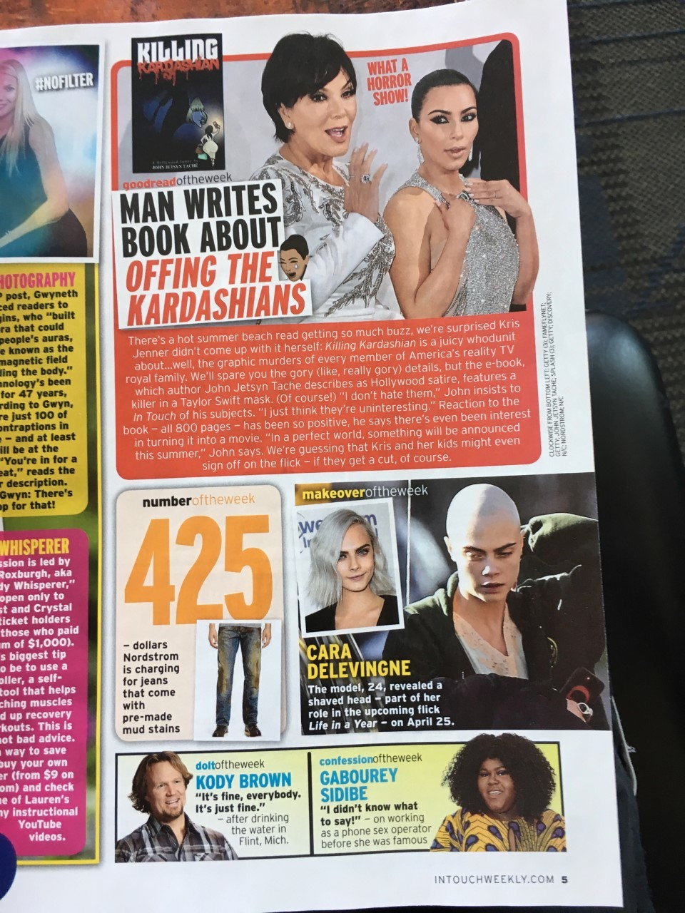 My art in the tabloids!