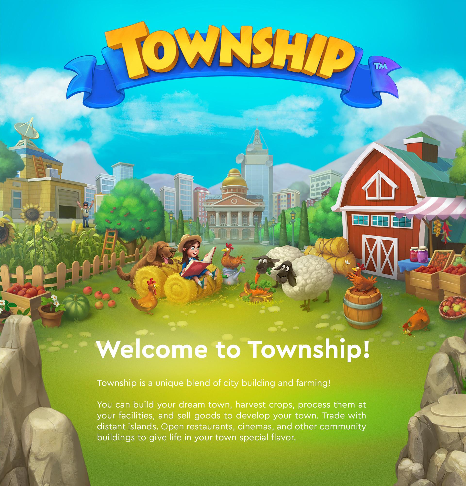 ArtStation - Township project ...
