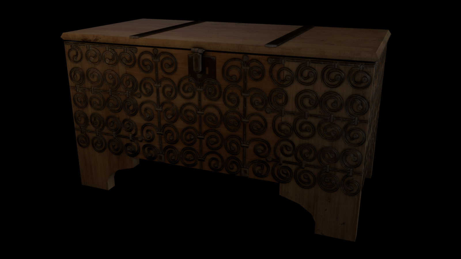 Medieval Chest, Musee des Arts Deco