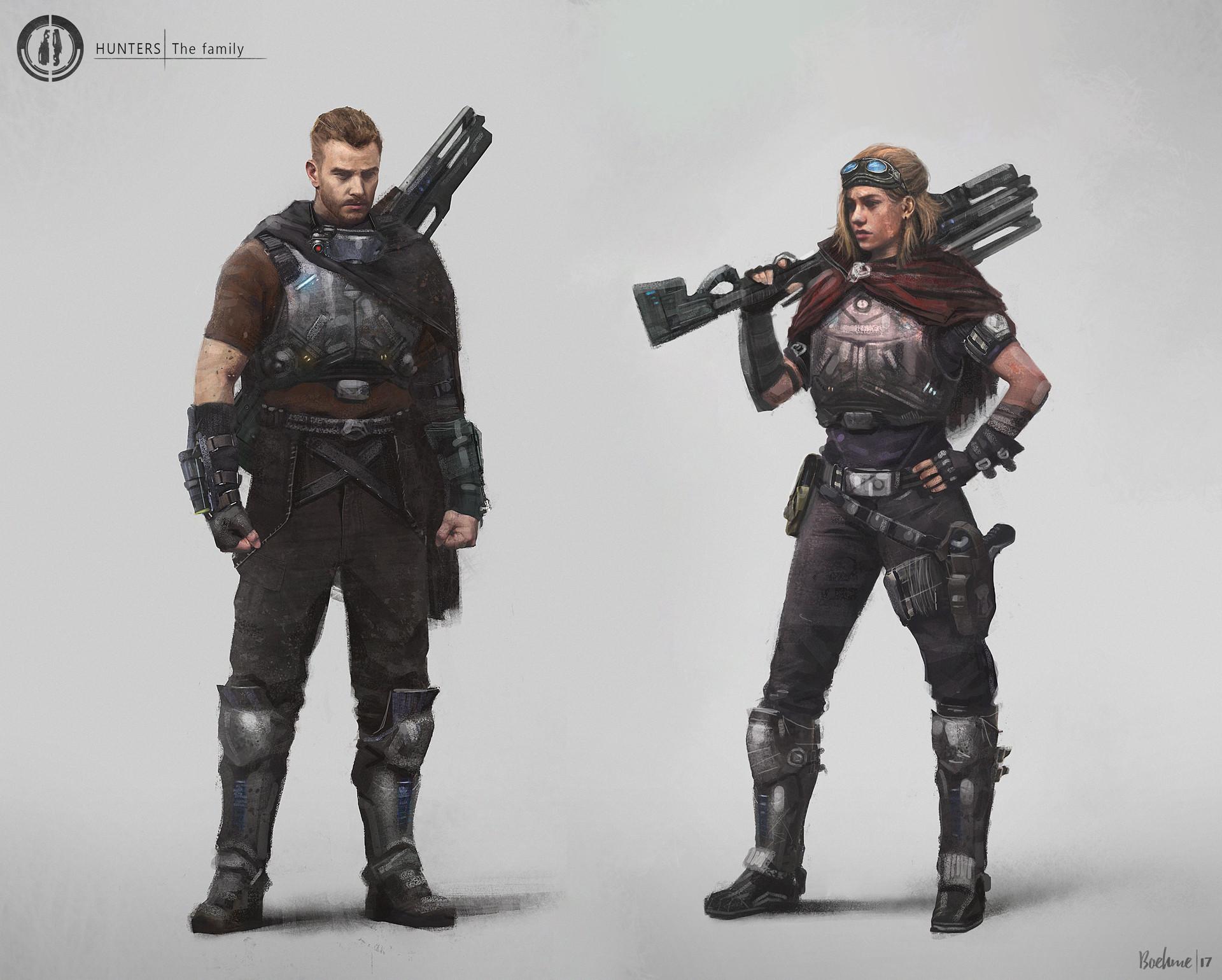 Mobo boehme hunter both