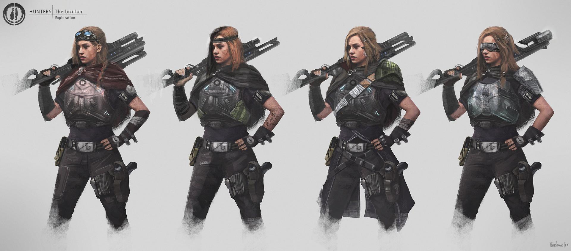 Mobo boehme hunter variations sister