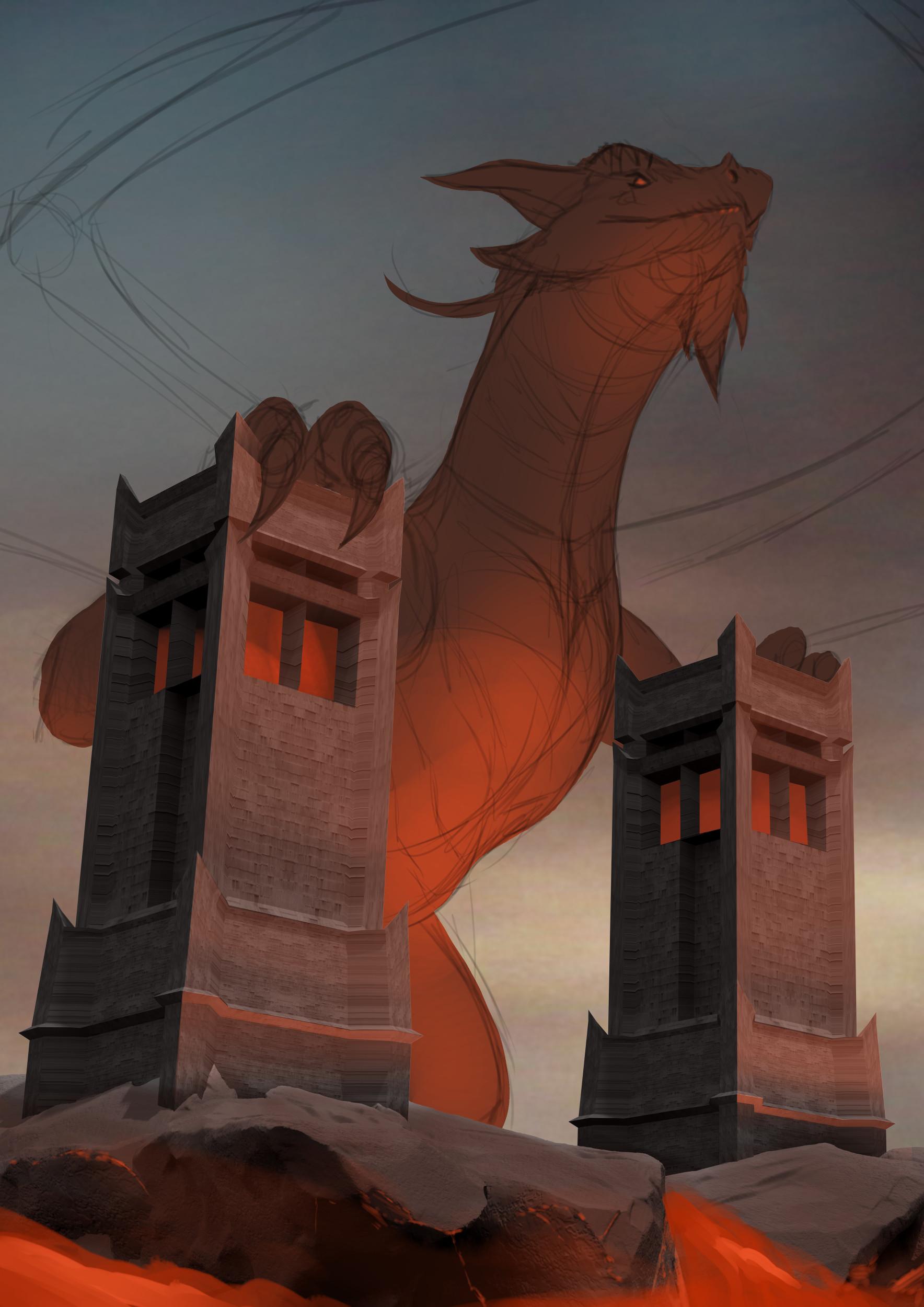 Robert crescenzio horror dragon 02