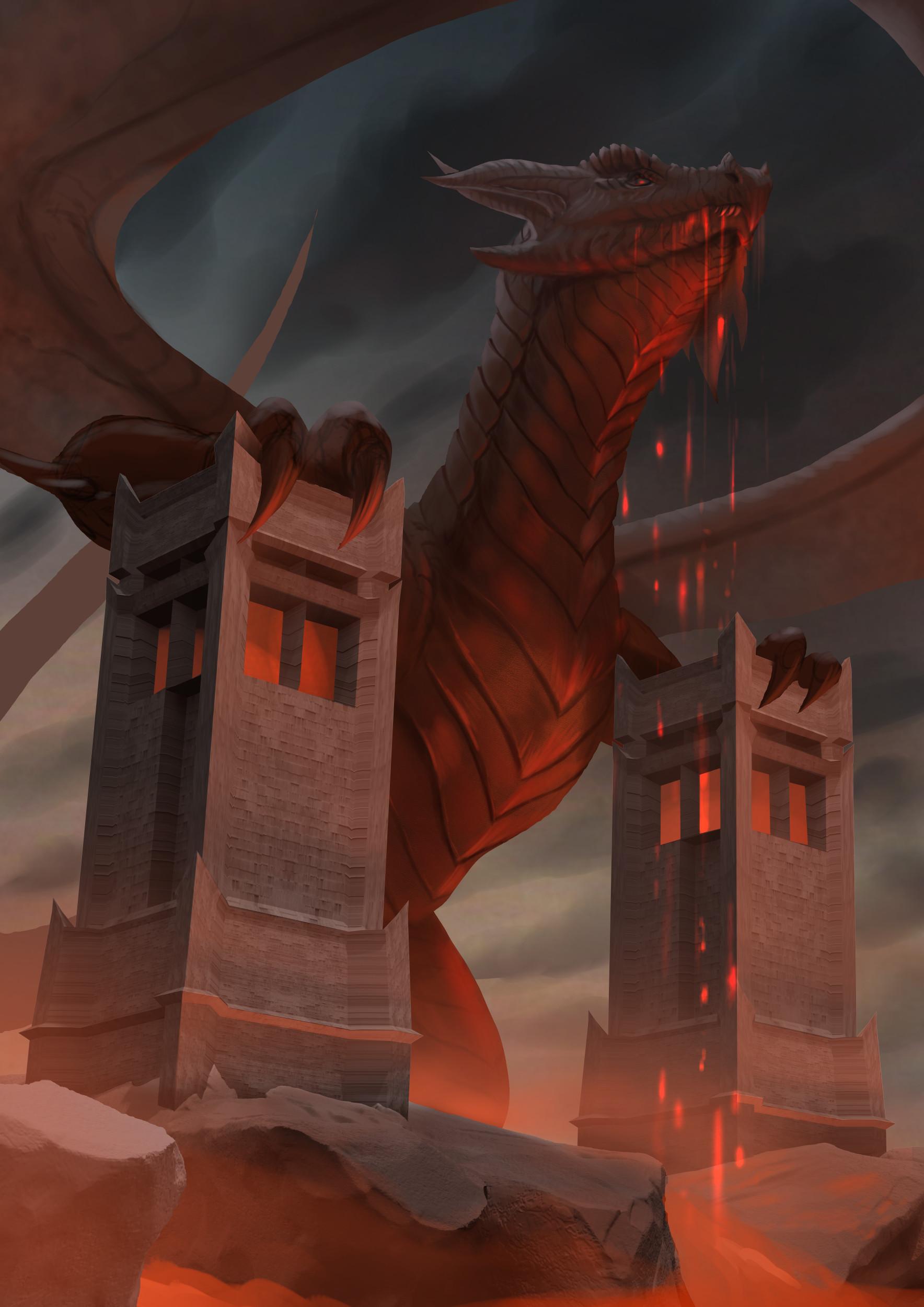 Robert crescenzio horror dragon 03