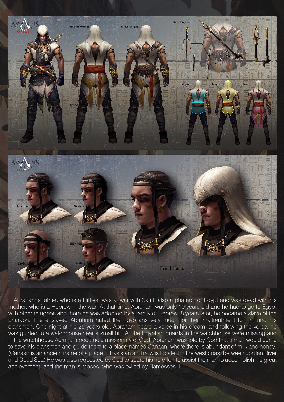 Artstation Assassin S Creed Origin Fan Art Evan Liu