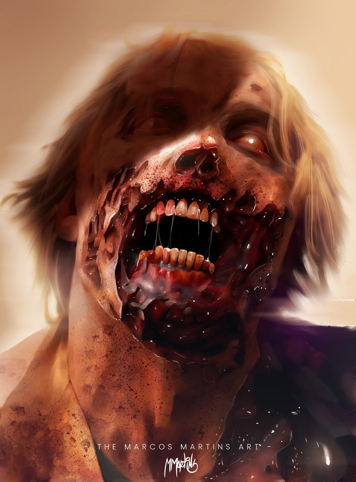 Zombie art.