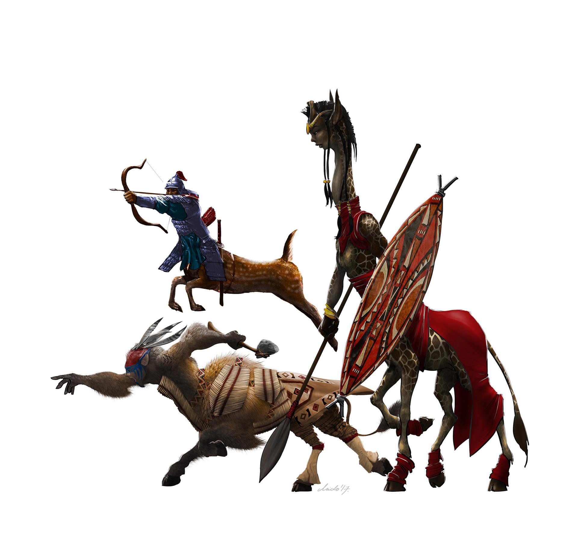 Midhat kapetanovic centaur retroevolution 01