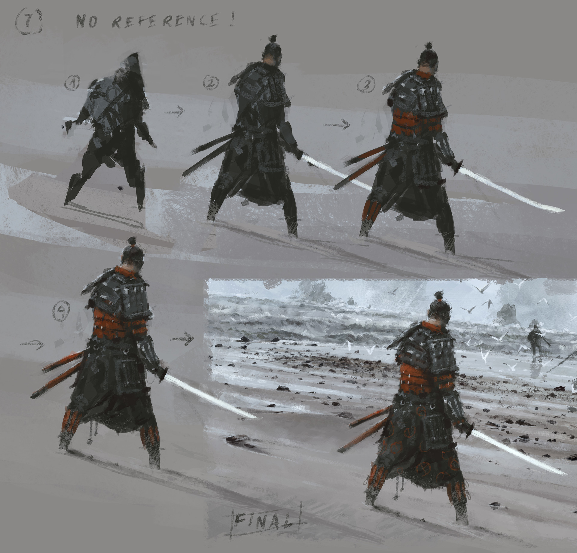 Jakub rozalski ancients conceptart 10process7