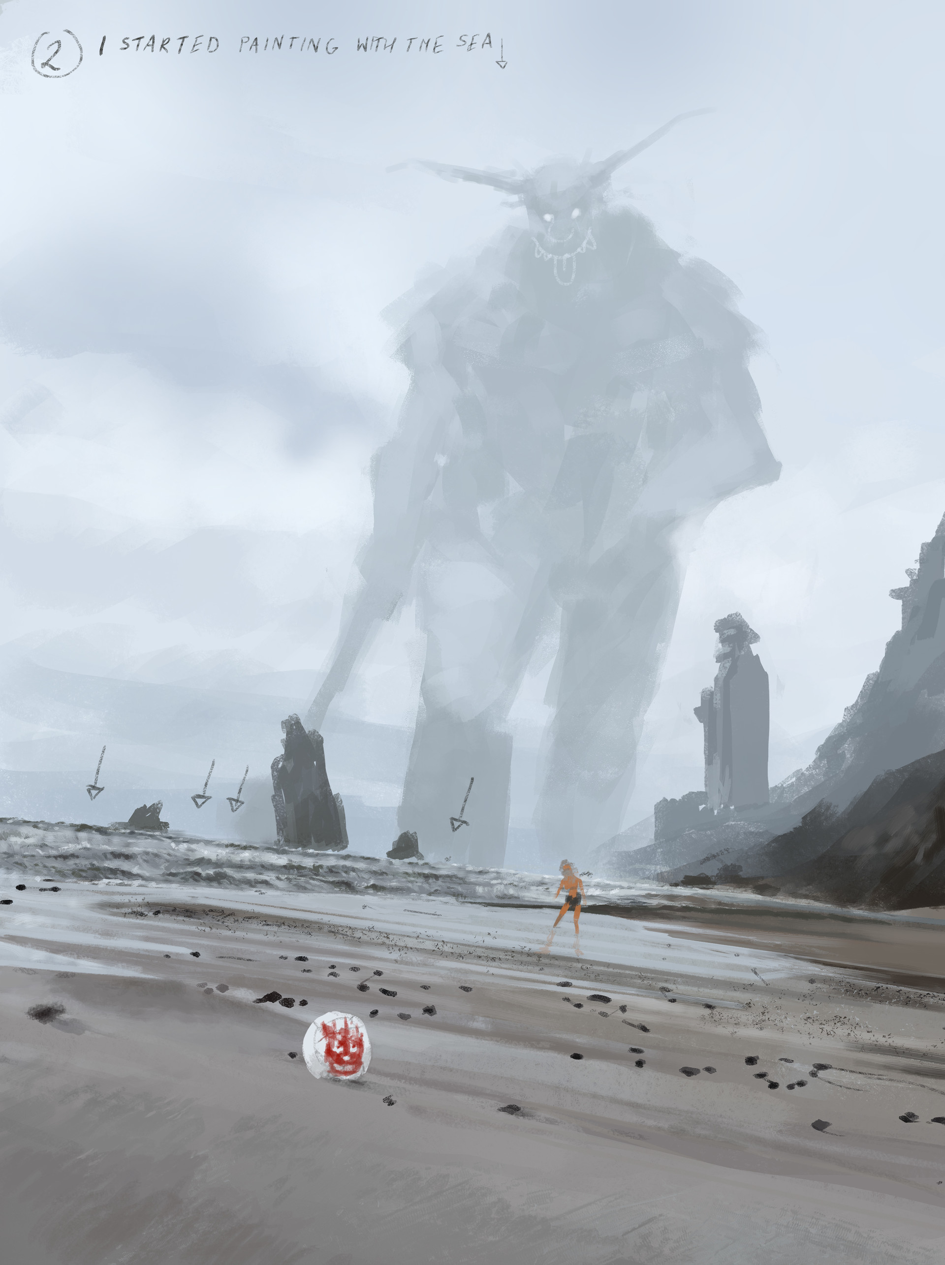 Jakub rozalski ancients conceptart 10process2
