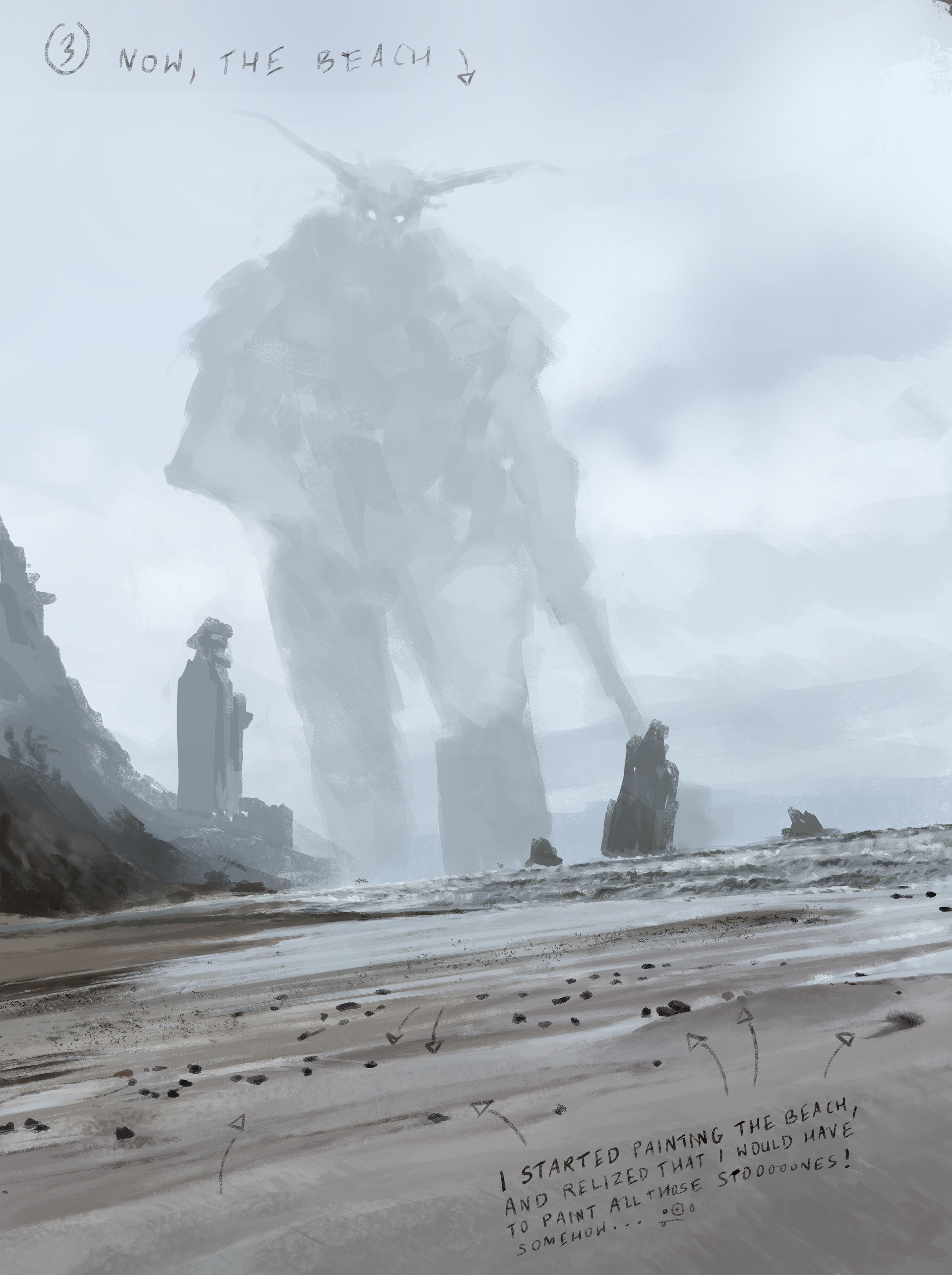 Jakub rozalski ancients conceptart 10process3