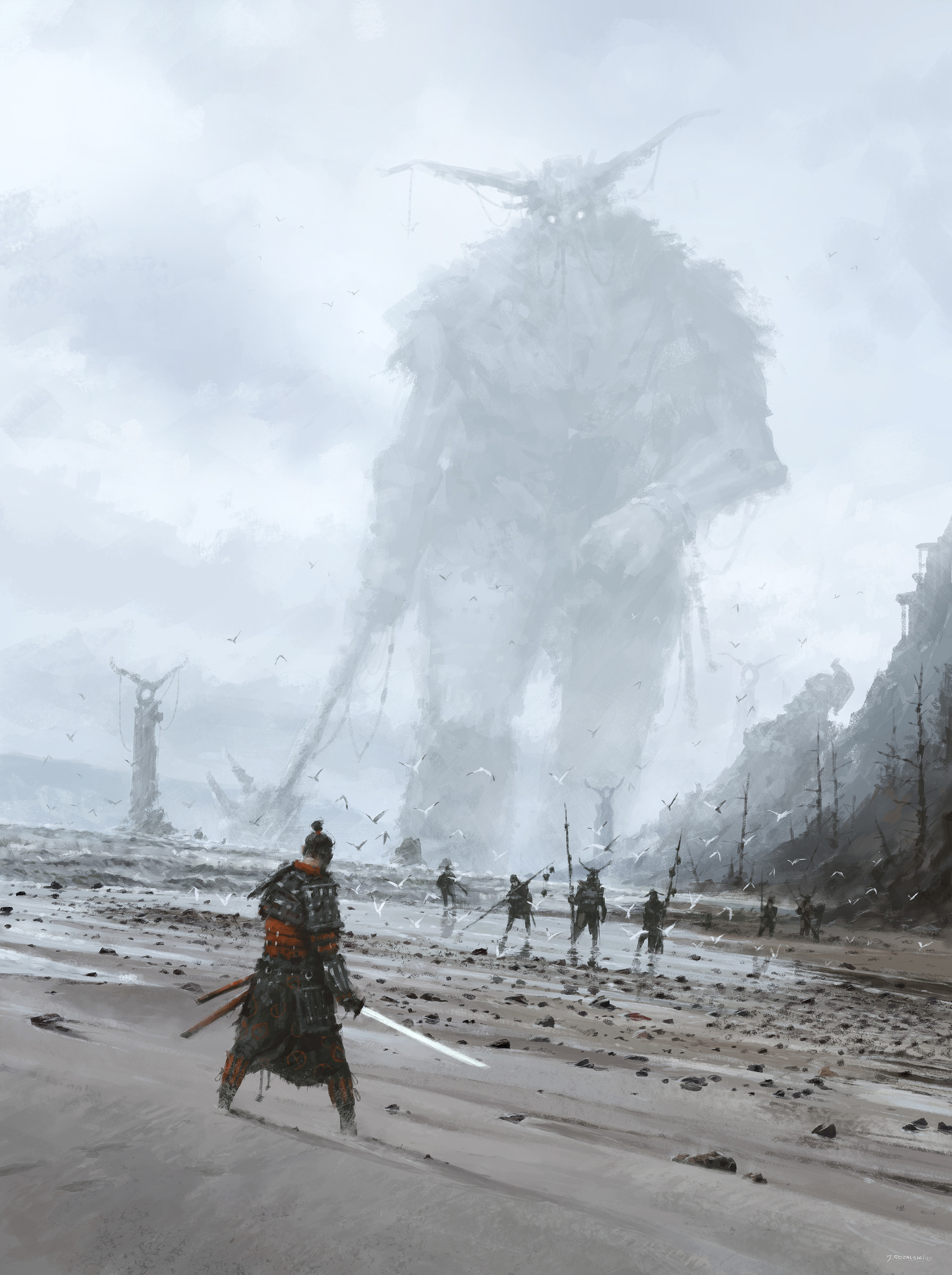 Jakub rozalski stranger on the strange land