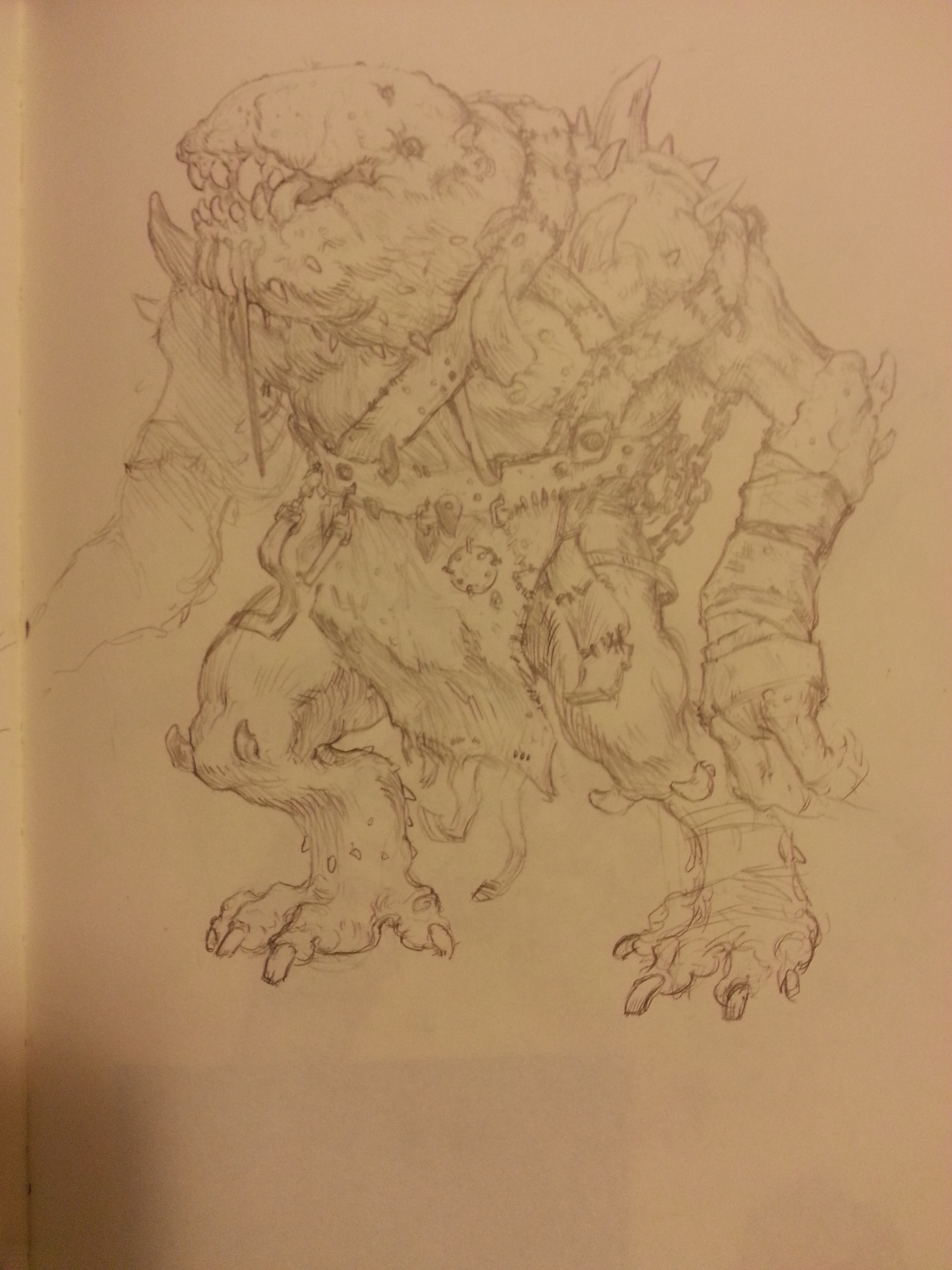Ben hosac orgrish sketch