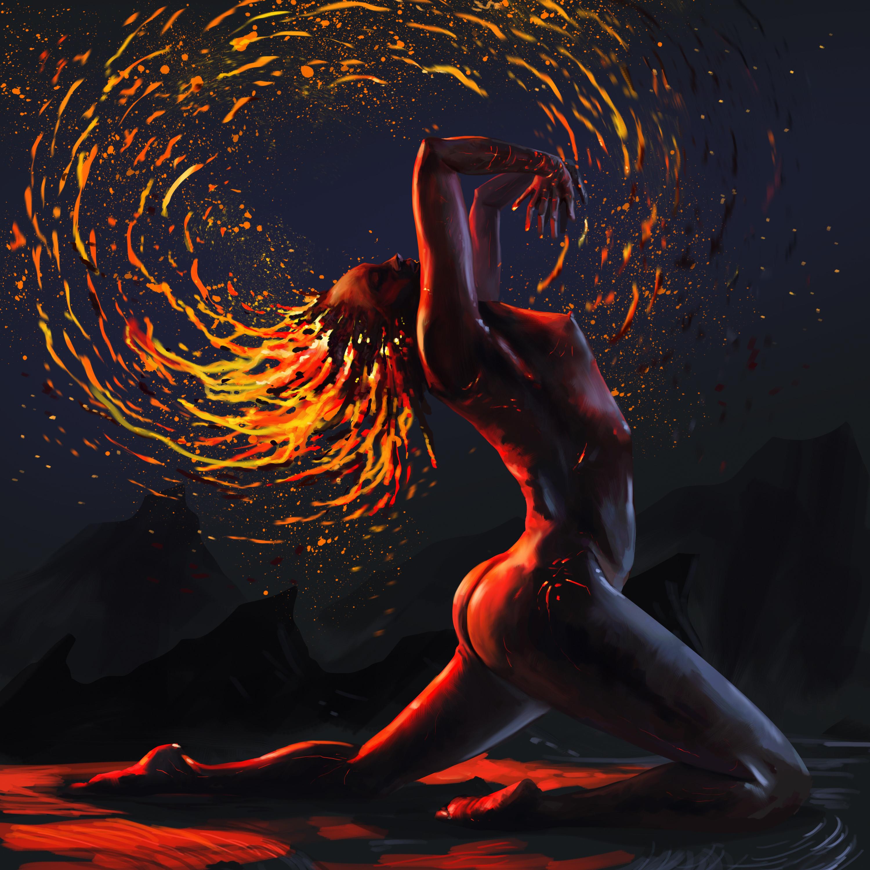 She's fire
