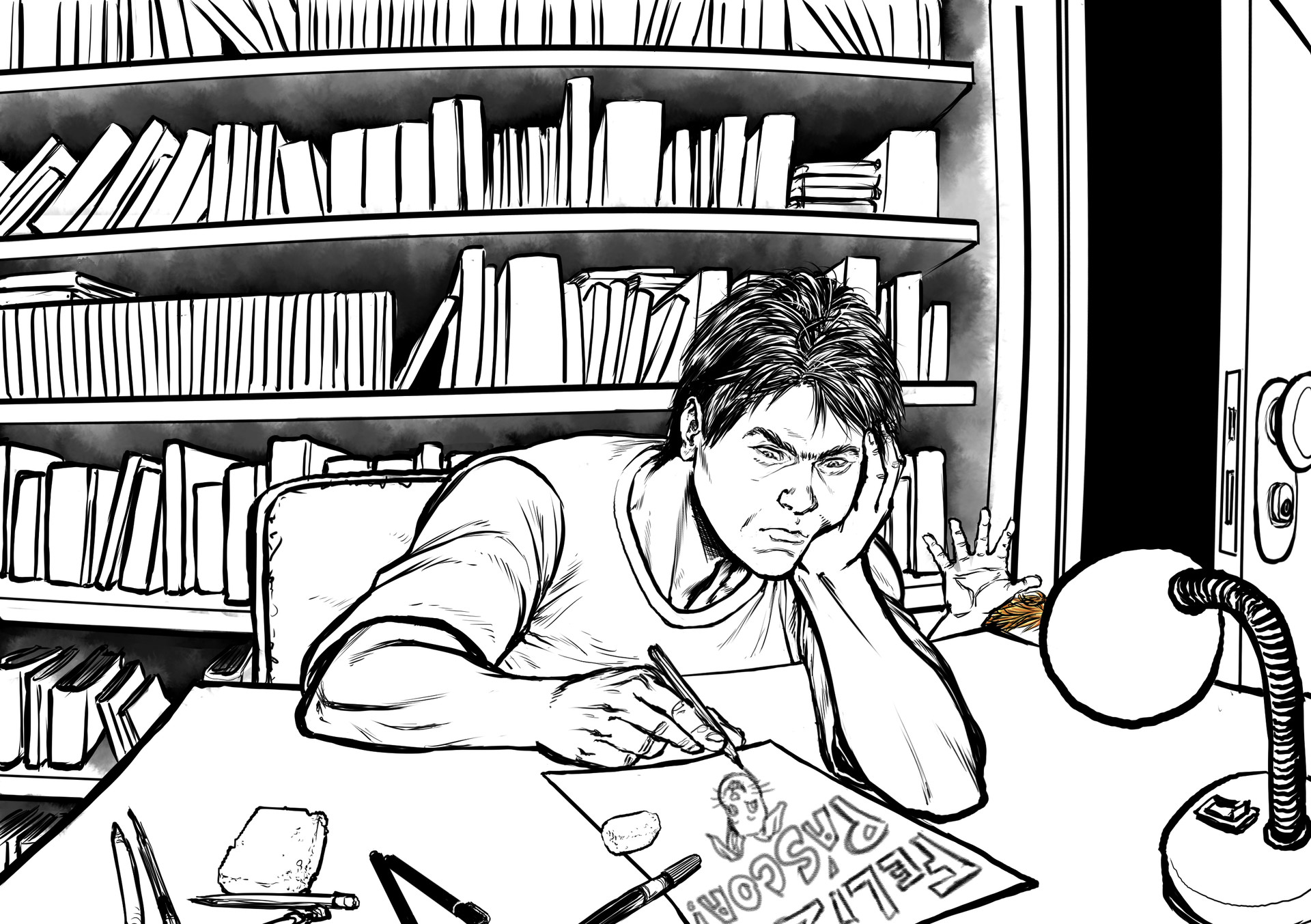 Gustavo melo dida do desenhista pascoa