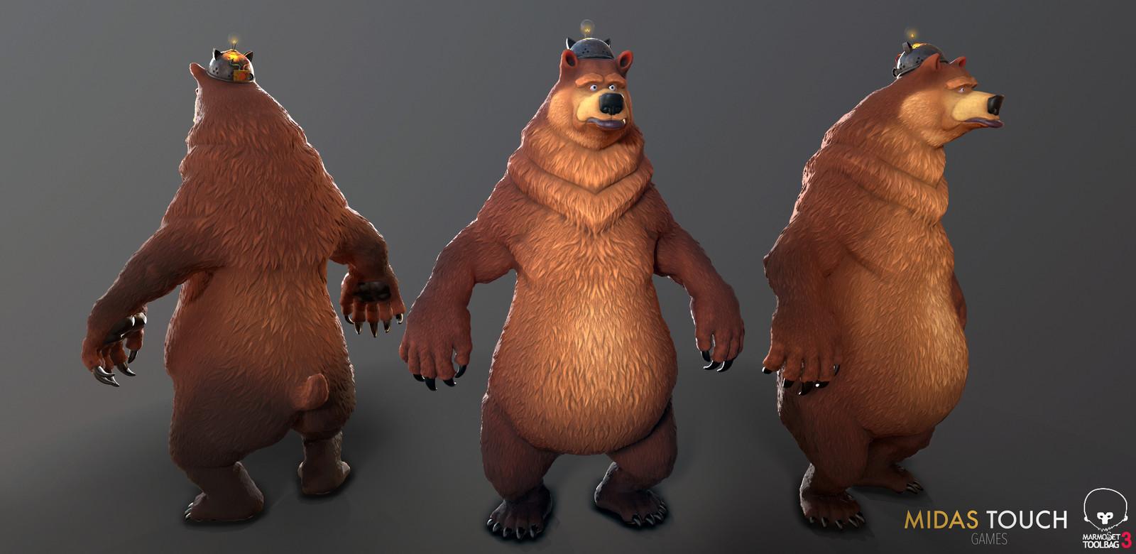 Remo - A remote-control bear