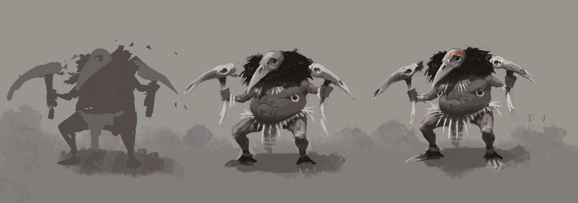 Crowwarrior concept