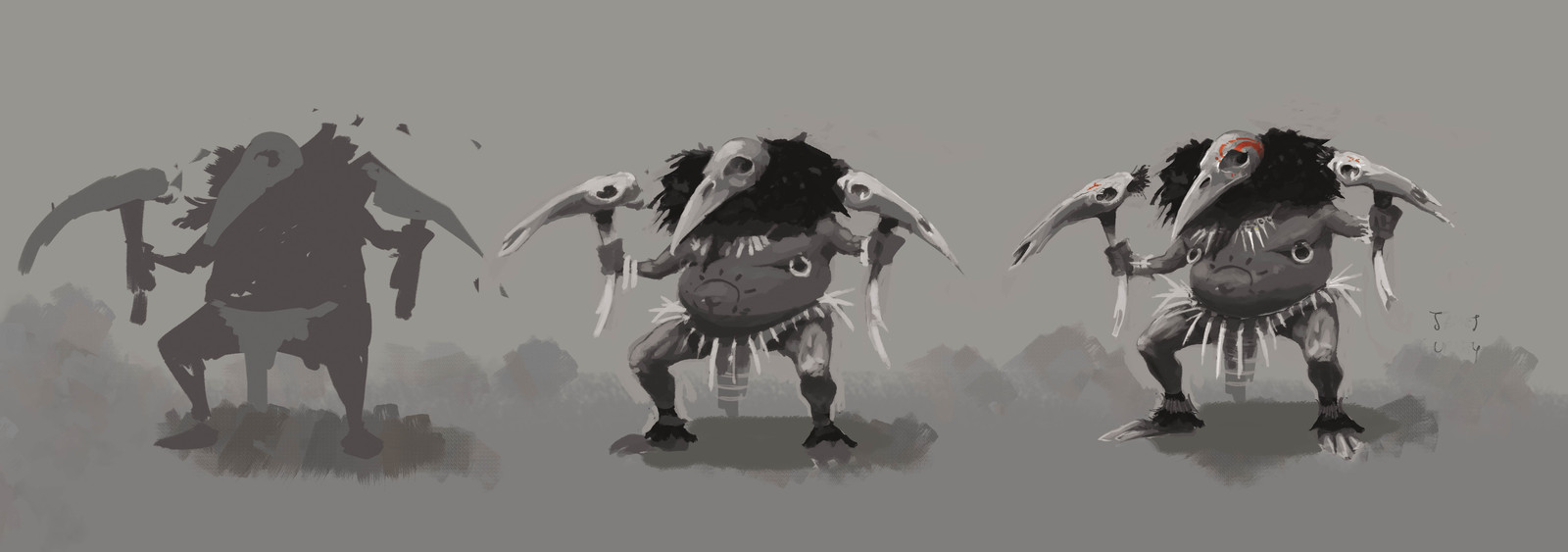 Crowwarrior concept