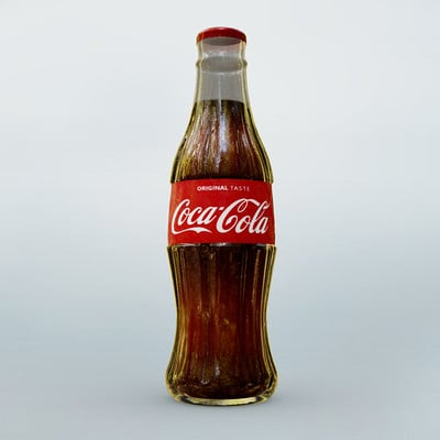Ian pretorius coca cola bottle