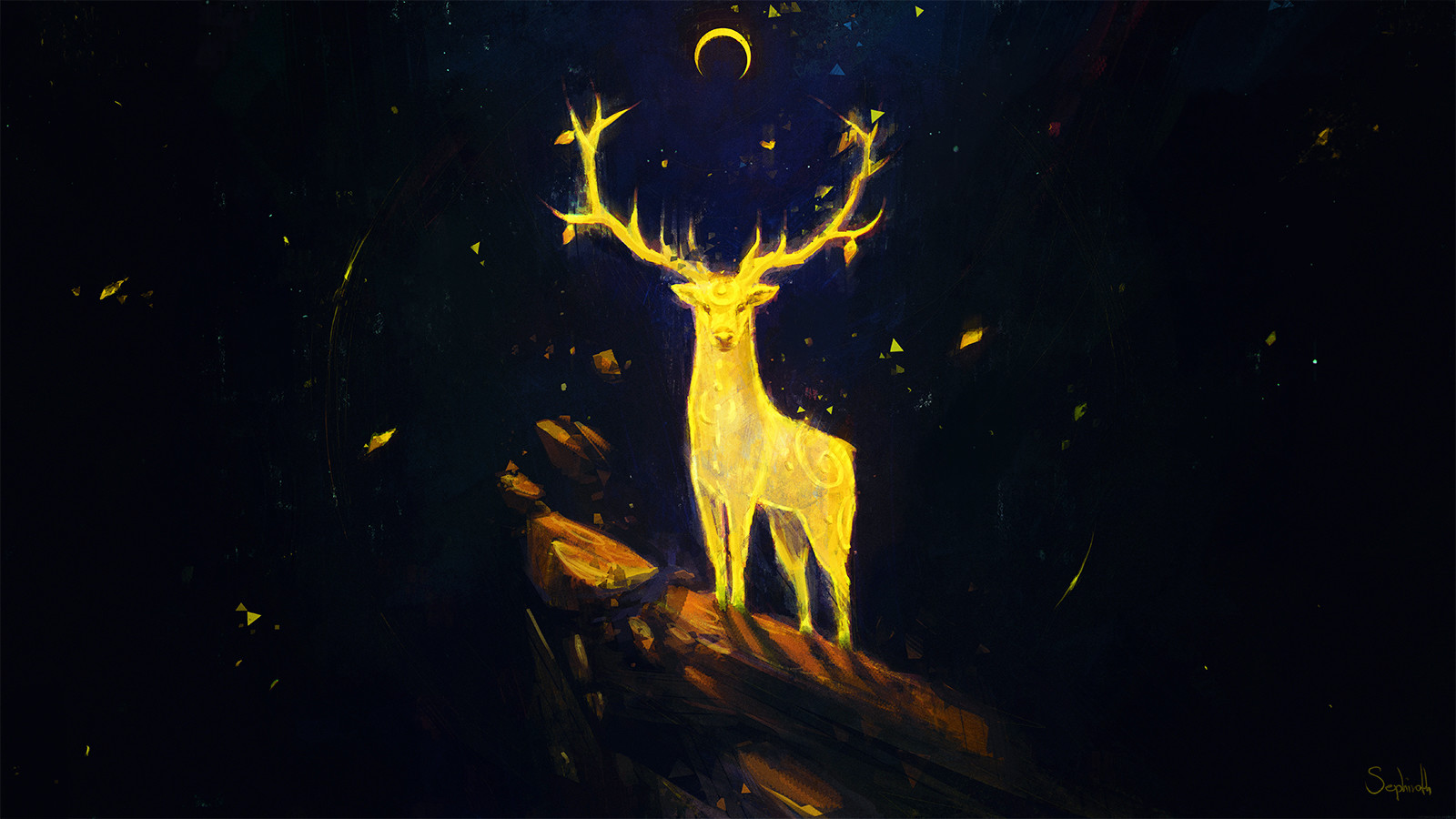 Sephiroth art totem spirit