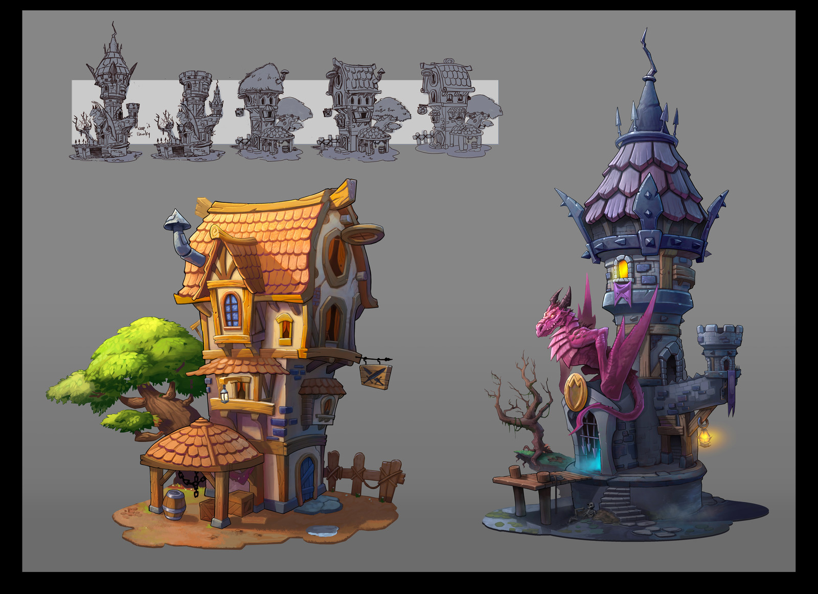 Boardgame Buildings.