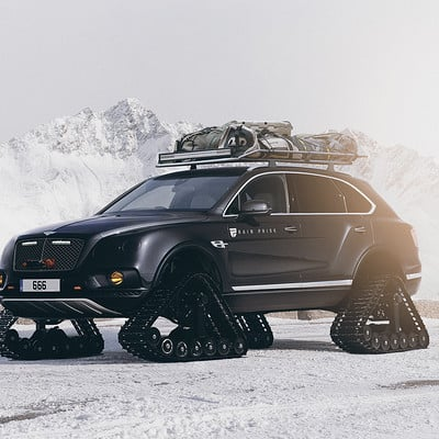 Rain prisk bentley bentayga