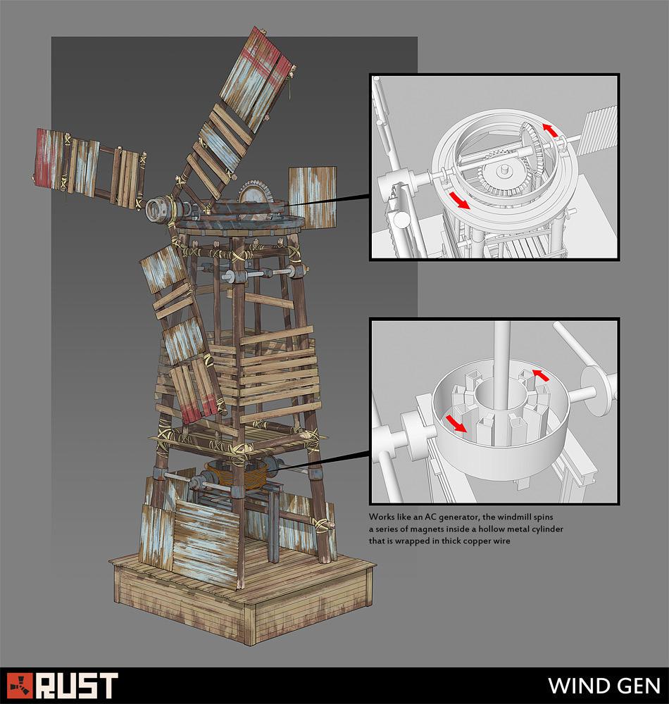 Clement rigondet quentin thevenard windmill concept art