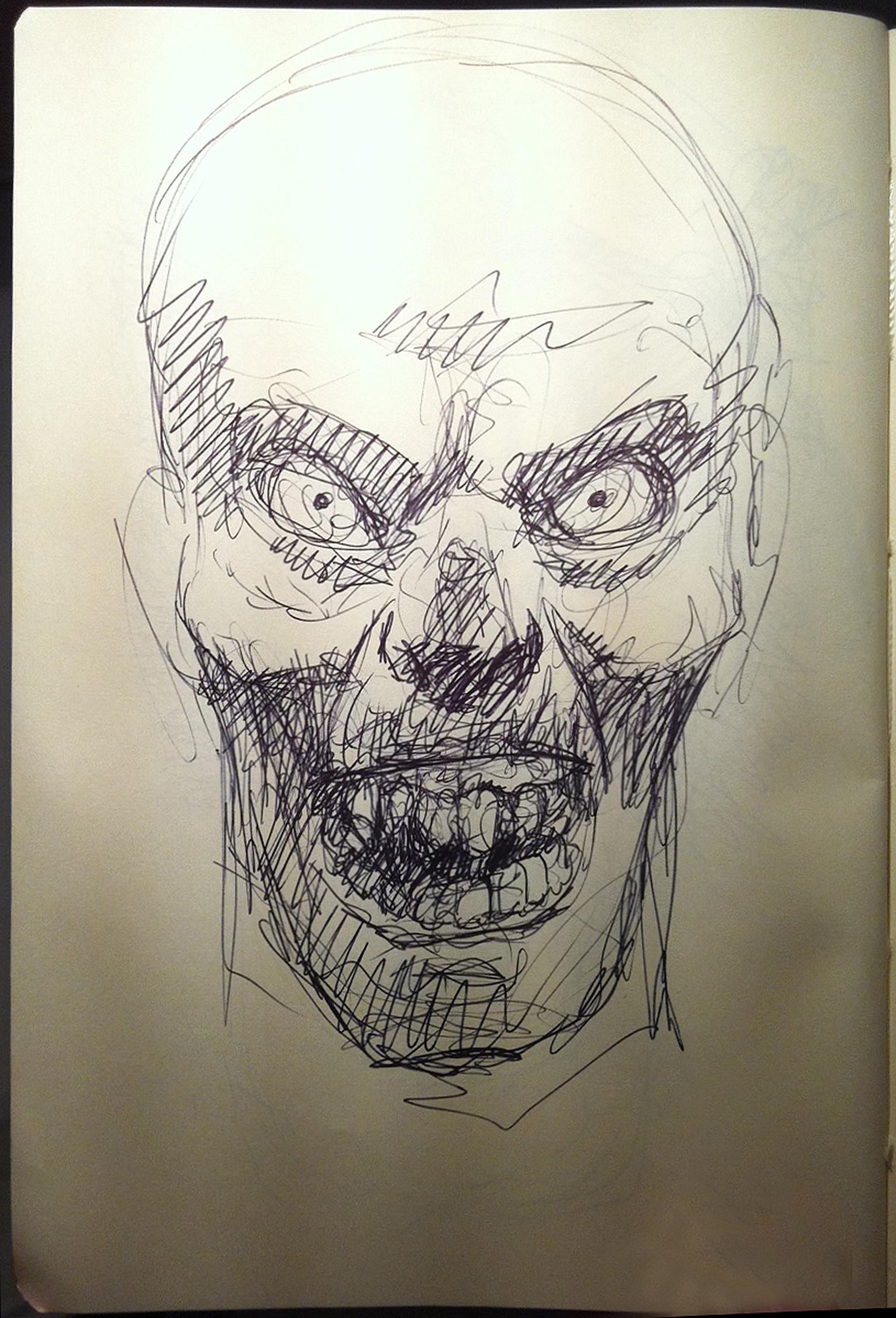 Friba art warlord sketch