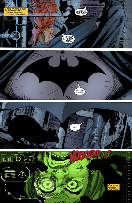 Matt james batman hush page 4 flats by j skipper db4xur2