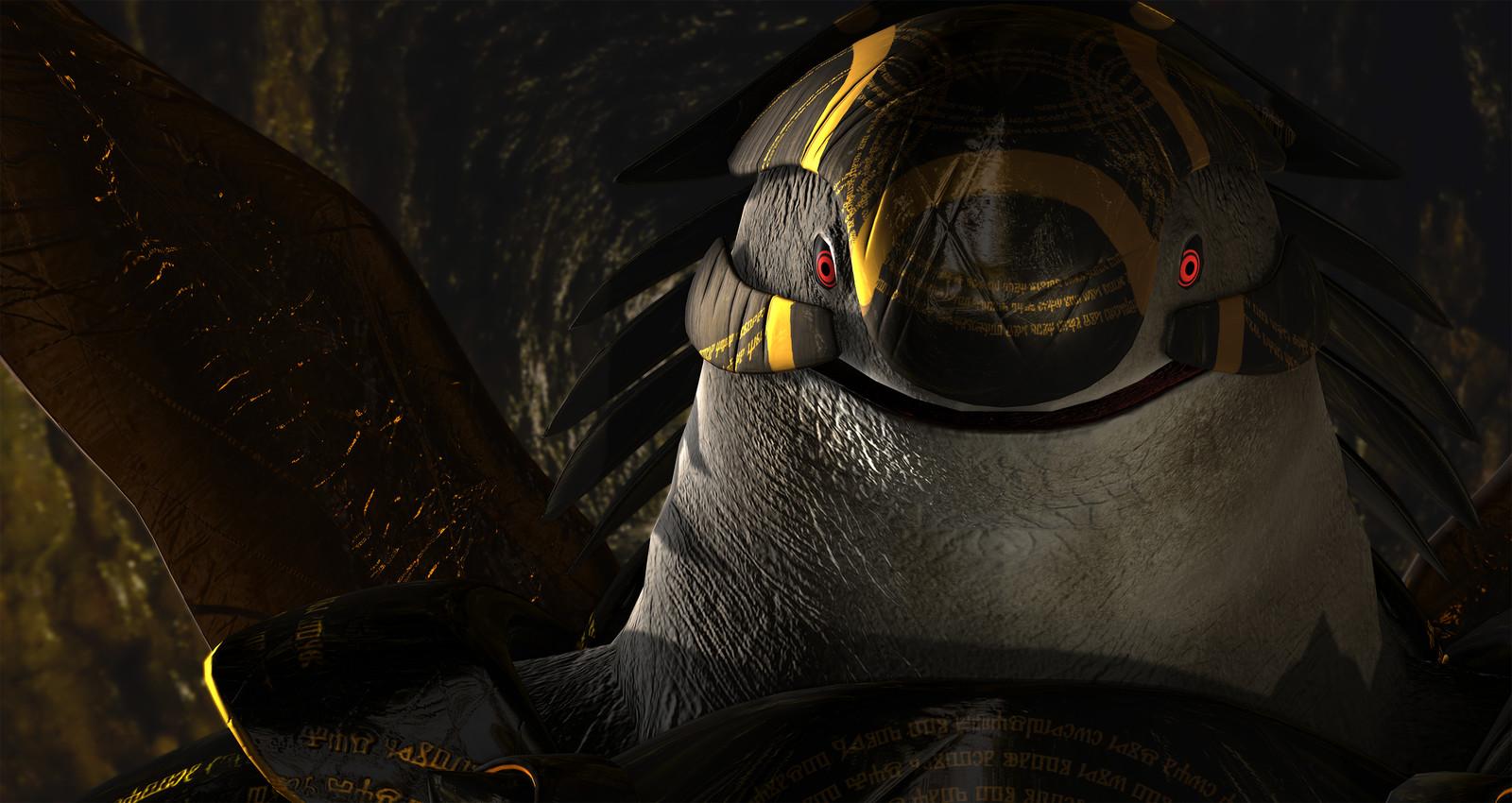 Turtle God 3D Model
