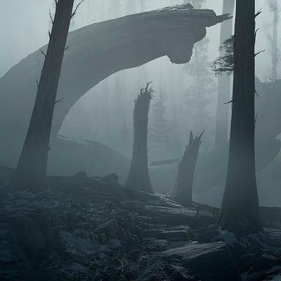 Alien Covenant - Juggernaut Wreck