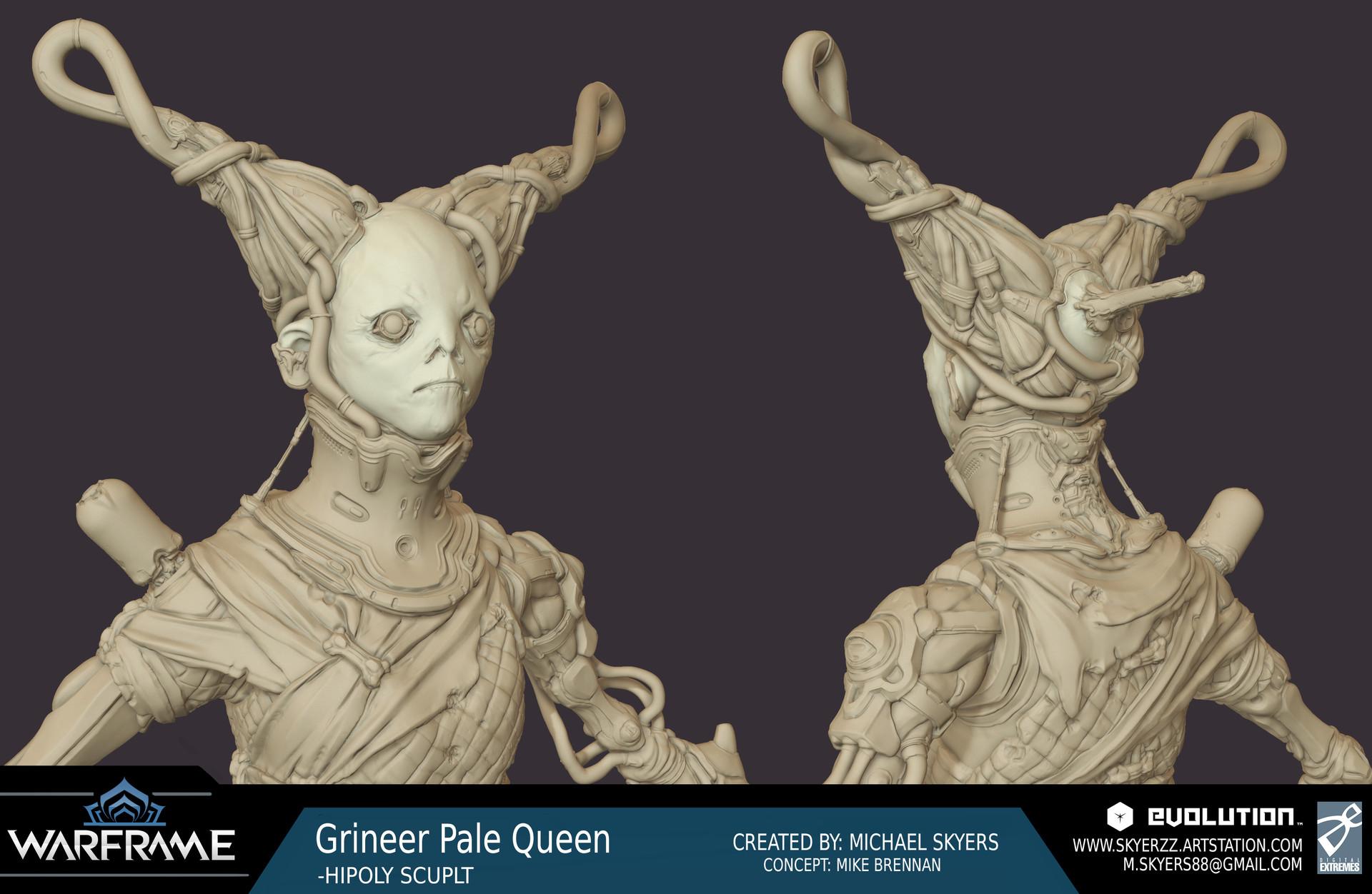 Michael Skyers Warframe Worm Pale Queen