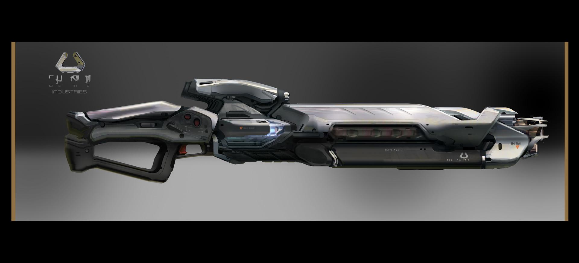 Energy rifle
