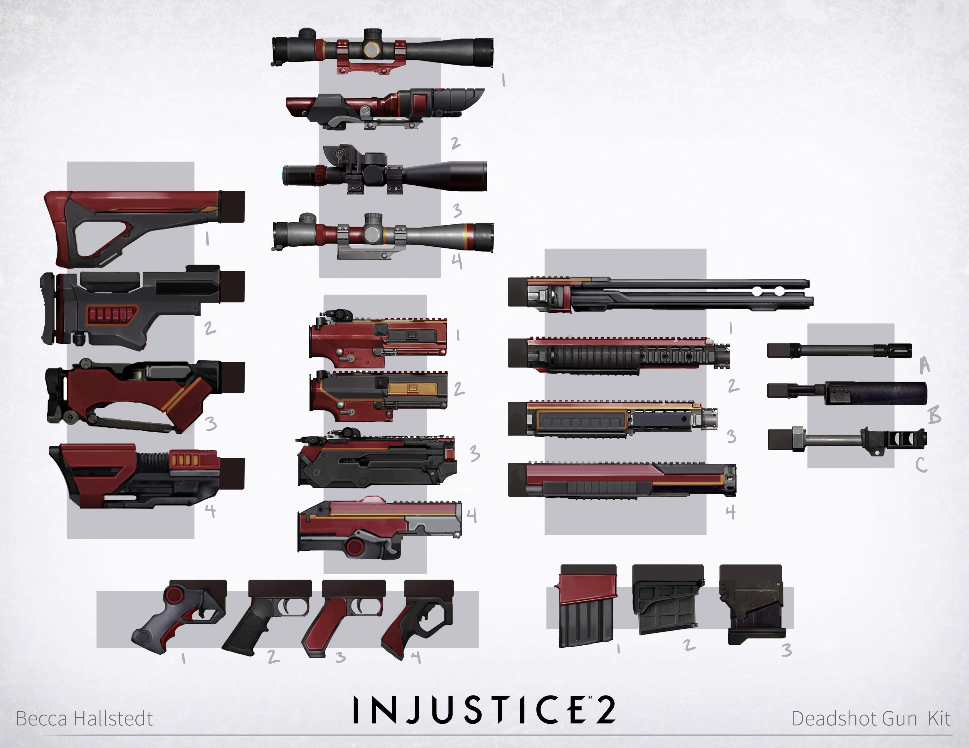 Gun kits! So many gun kits!!