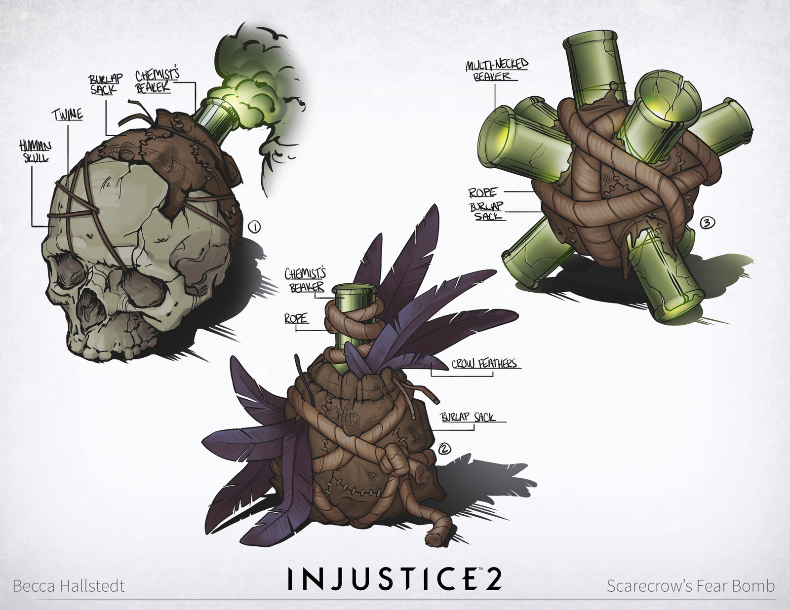 Injustice 2: Scarecrow/Swamp Thing/Various