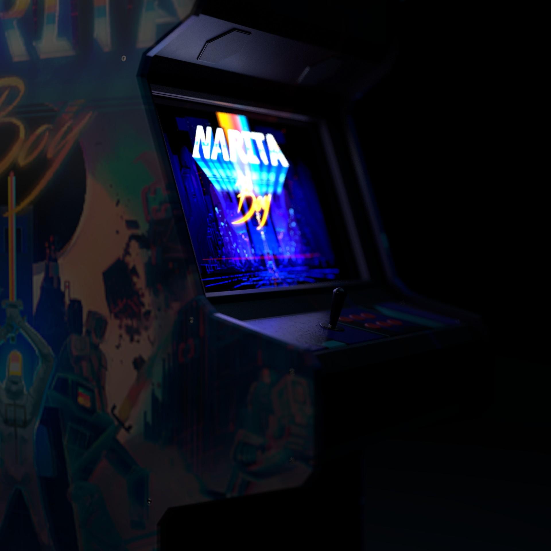 Alperen ozgur arcade machine 2