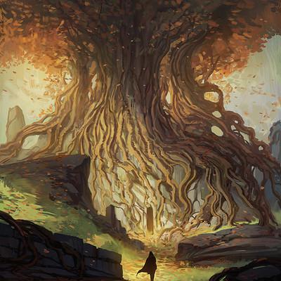 Jorge jacinto golden tree