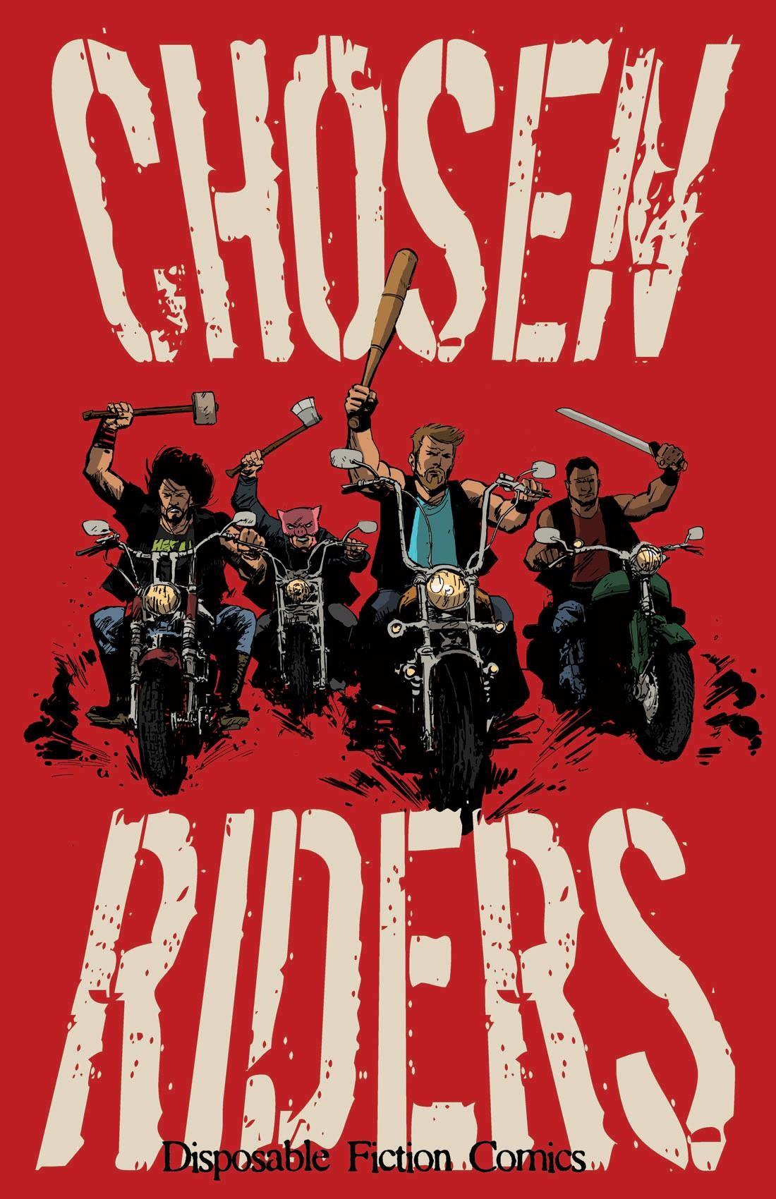 Andre stahlschmidt chosen riders