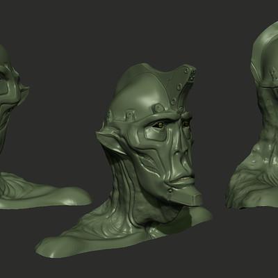 Javier valdez sp17 cg405 rbriley javiervaldez creature sculpt